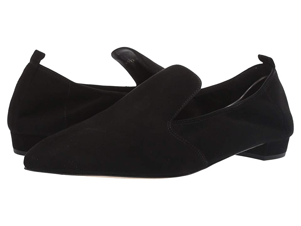 L.K. Bennett Raven Single Sole Pointed Flats (Black) Women