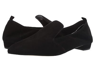 L.K. Bennett Raven Single Sole Pointed Flats (Black) Women