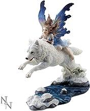 Nemesis Nu Free Spirit Figurine 31cm Wit, Maat 27cm