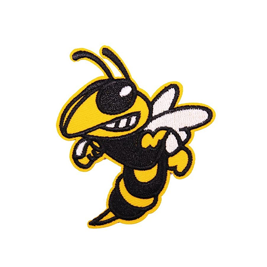 U-Sky Sew or Iron on Patches - Hornet Bee Patch