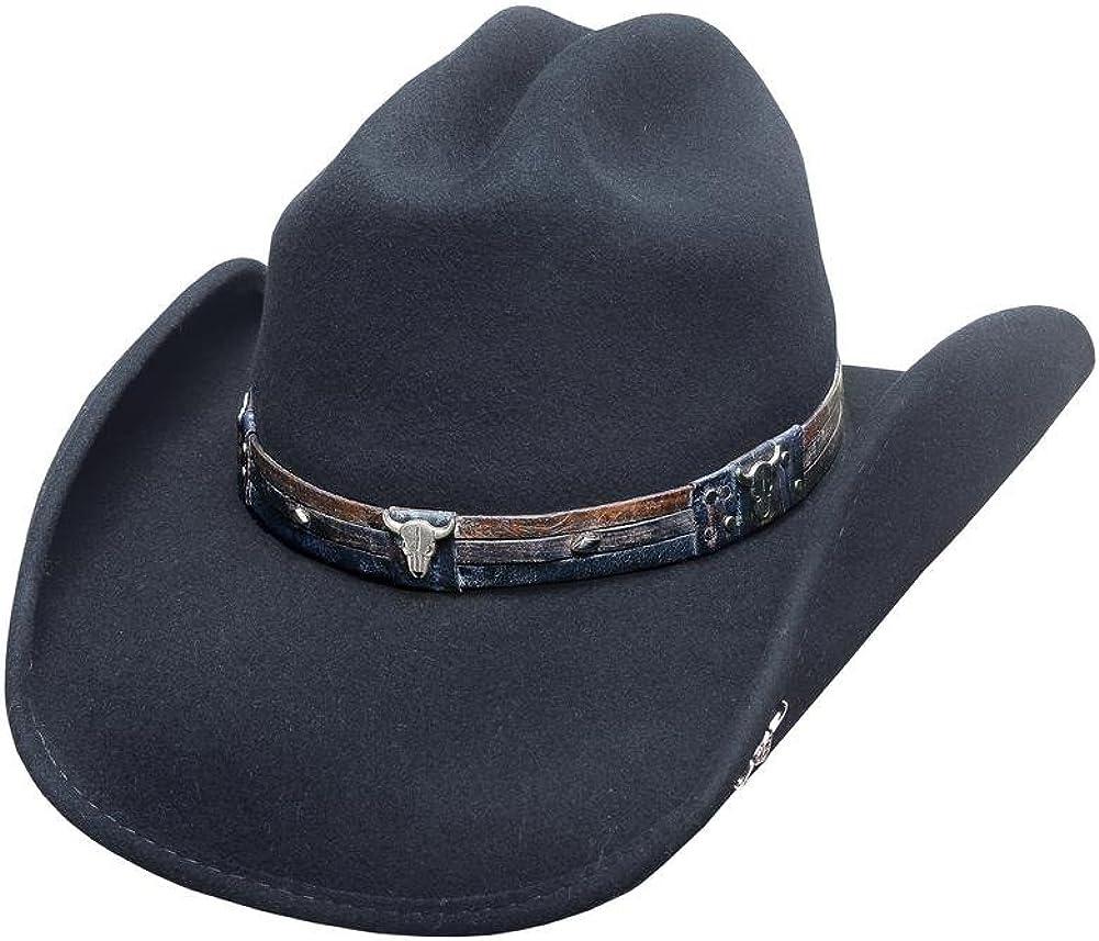 Bullhide Hats Biting The Dust Felt Cowboy Hat