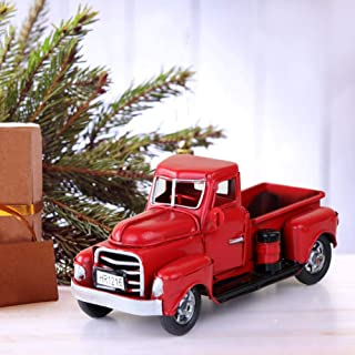 Best red truck christmas truck Reviews