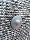 Fixation brise vue GRIPNET traités anti-UV pour panneaux grillagés (diamètre tige...