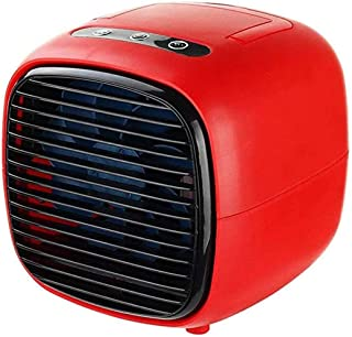 Acondicionador De Aire Personal, Mini Refrigerador De Aire Evaporativo Escritorio Del USB Del Ventilador De Humidificación Con Spray Refrigerador Pequeño Para Office Desk Aire Libre Dormitorio,C