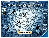 Ravensburger Puzzle, Puzzle 654 Gold, Krypt Pink, Puzzles para Adultos, Puzzle Monocromo Espiral, Rompecabezas Ravensburger de Alta Calidad