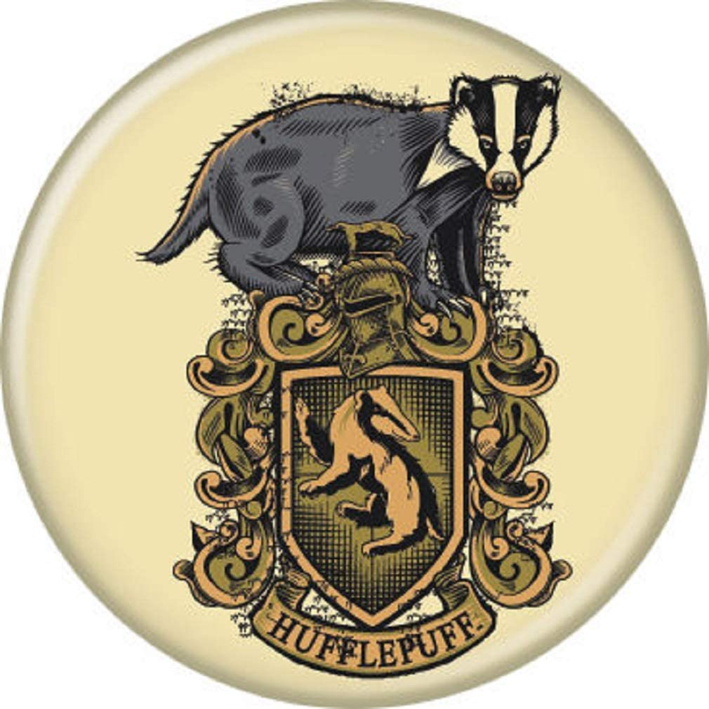Ata-Boy New Orleans Mall Harry Super sale Potter Hufflepuff Pin-Back Collectible 1.25