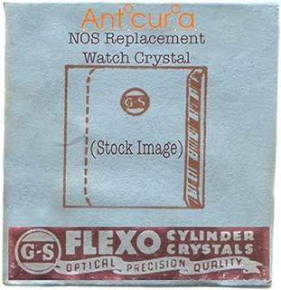 CMY312-5 Gruen Veri-thin 24.0 x 21.4 Vintage NOS Flexo Watch Replacement Crystal
