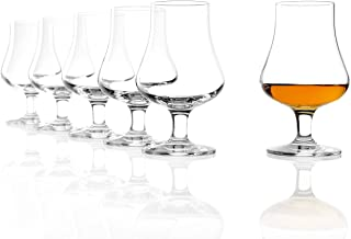 Stölzle Lausitz Whisky The Nosing Glass 194 ml, 6er Set Whiskyglas, spülmaschinenfeste Whiskygläser, hochwertige Qualität aus Kristallglas
