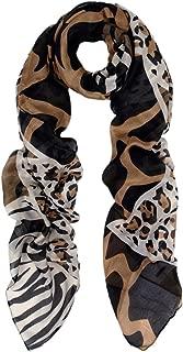 Premium Classic Leopard Animal Print Fashion Scarf - Multi Colors Available