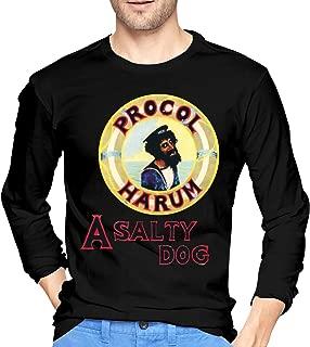 JeremiahR Mens Procol Harum A Salty Dog Long Sleeve Tshirt Black