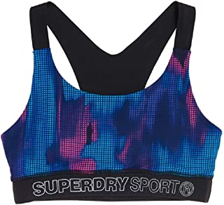 Superdry Women's Women's Active Sports Bra, Multi Print
