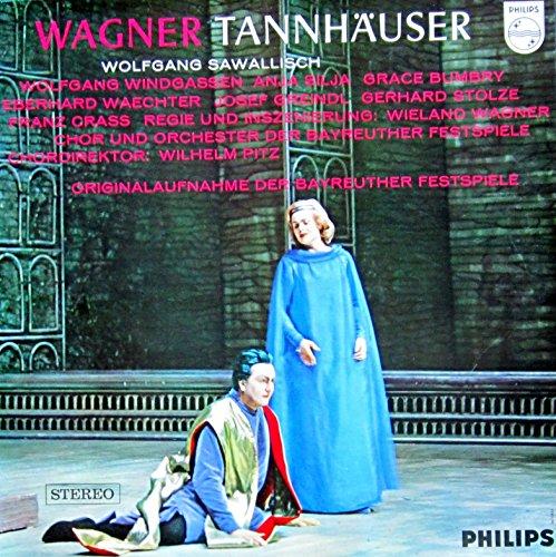 Wagner: Tannhäuser (Originalaufnahme der Bayreuther Festspiele 1962) [Vinyl Schallplatte] [3 LP Box-Set]