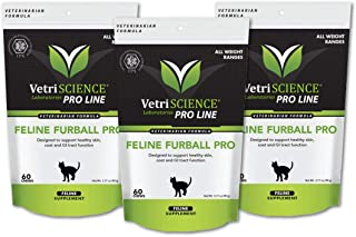 Vetriscience Furball Pro Hairball Control Chews 3pack of 60ct Bags