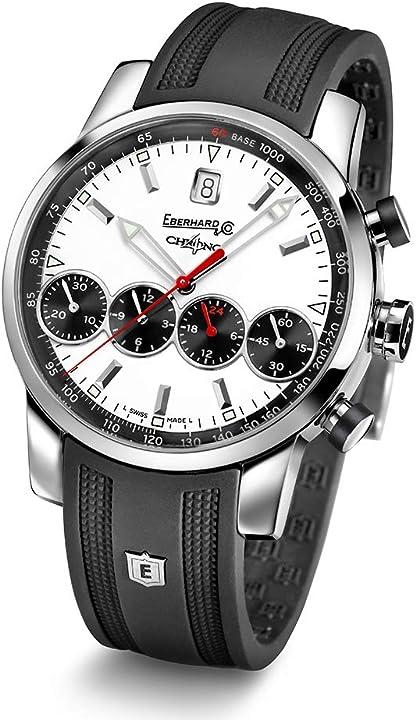 Orologio eberhard chrono 4 grande vita orologio da uomo cronografo automatico 31052.6 cu 31052.6CU
