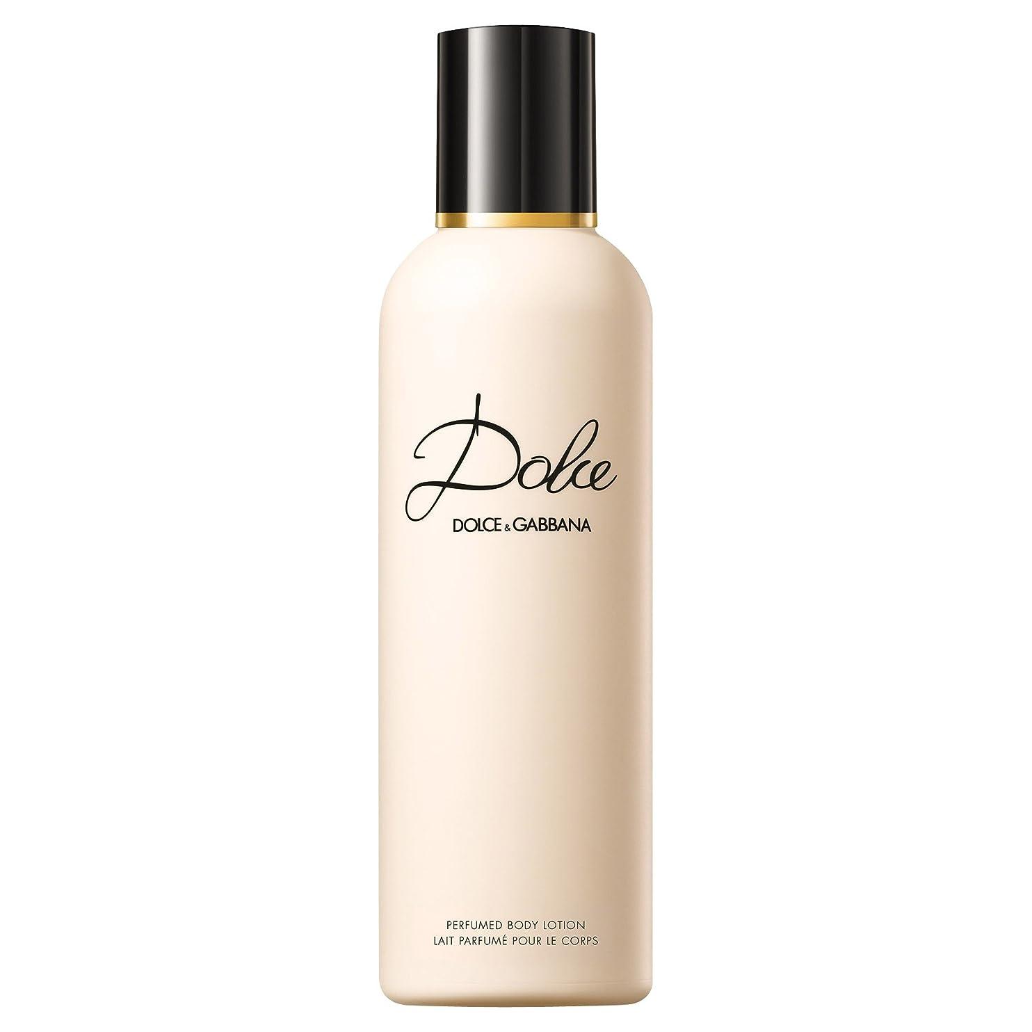 睡眠皮肉トライアスリートドルチェ&ガッバーナドルチェのボディローション200ミリリットル (Dolce & Gabbana) - Dolce & Gabbana Dolce Body Lotion 200ml [並行輸入品]