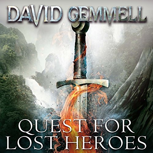 Quest for Lost Heroes audiobook cover art