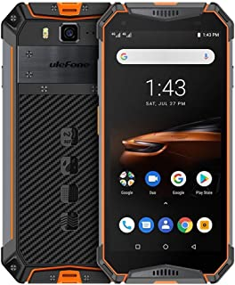 Phones Armor 3W Rugged Phone, Dual 4G, 6GB+64GB, IP68/IP69K Waterproof Dustproof Shockproof, Face ID & Fingerprint Identification, 10300mAh Battery, 5.7 inch Android 9.0 MKT Helio P70 Octa-core 64-bit