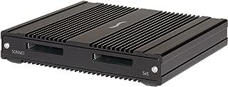 Sonnet SF3 Series Sxs Pro Card Reader USB 3.1/Thunderbolt 3, Black (SF3-2SXS)
