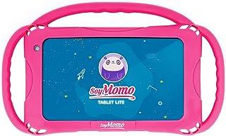 SoyMomo Tablet Lite - kindertablet met kinderbeveiliging, detectie van gevaarlijke inhoud, 7 inch display, 16 GB geheugen,...