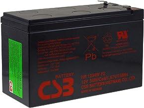 CSB Batería de Plomo-ácido de Alta Descarga HR1234WF2 12V