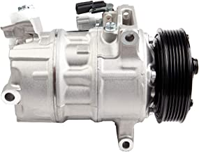 GEGOCOMP Remanufactured AC Compressor and A//C Clutch Replacement for Nissan Sentra 2013 2014 2015 2016 L4 1.8L Nissan Tsuru 2013 2014 2015 2016 L4 1.6L