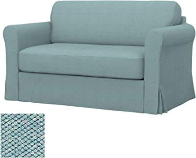 Soferia - IKEA HAGALUND Funda para sofá Cama, Nordic Light ...