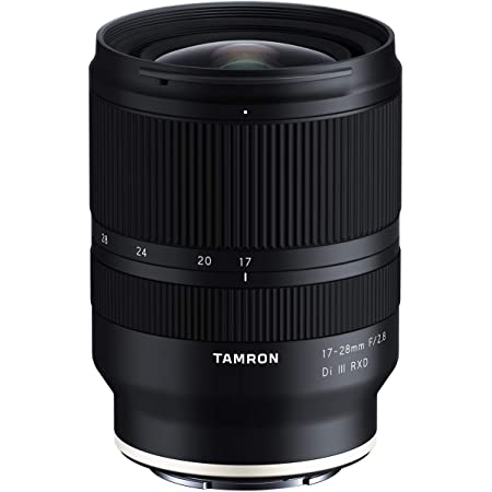 Tamron 17-28mm f/2.8 Di III RXD for Sony Mirrorless Full Frame/APS-C E Mount (Tamron 6 Year Limited USA Warranty), Black (AFA046S700)