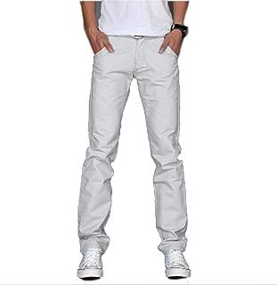 Zhi Fan Men's Design Casual Cotton Slim Straight Trousers Fashion Business Pants