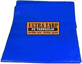 UltraTarp PE Tarpaulin Virgin UV Treated 120 GSM Blue (12 ft x 15 ft) - Pack of 5 PCS
