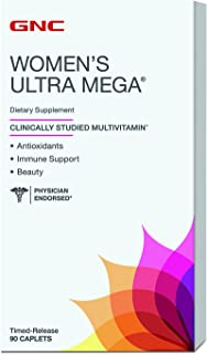 GNC Women's Ultra Mega Timed Release, 90 Count