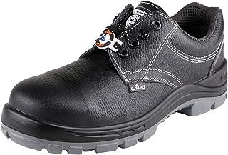 ACME Elics Leather Safety Shoes Black (Size - ELICS-41)