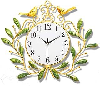 DKee Reloj de Pared Creativa De La Sala del Reloj De Pared del Reloj Silencioso Personalidad Atmósfera De La Manera Simple...