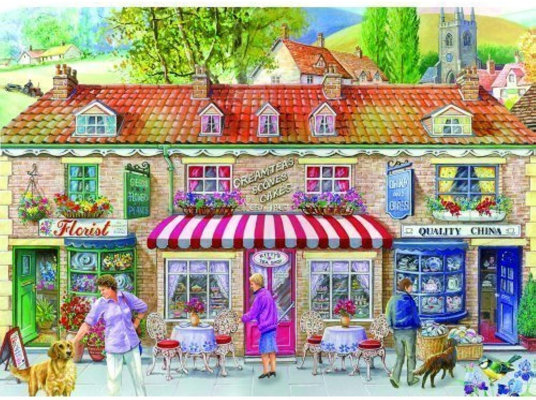 tienda de venta en línea The House of Puzzles - Friday Friday Friday Street 500 Piece Jigsaw Puzzle by The House of Puzzles  de moda