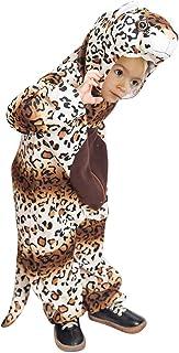 Ikumaal F128 Leopard Disfraz, Tamaño 6-7 años, Disfraz Disfraces para niños Niño Niña, Adecuado para fasnacht, también como Regalo de cumpleaños o Navidad de Carnaval