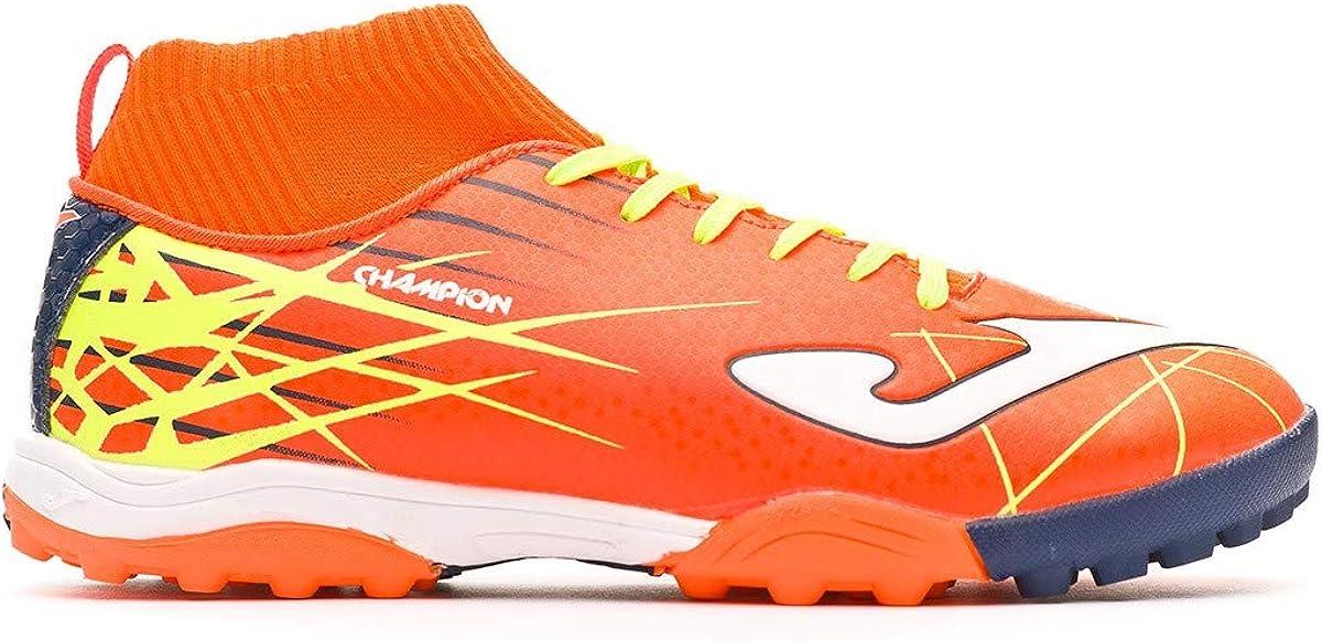 Orange-Yellow Zapatilla de f/útbol Joma Champion Turf Ni/ño
