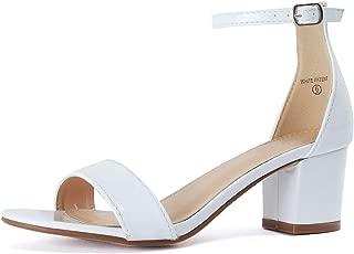 Best short white heels Reviews