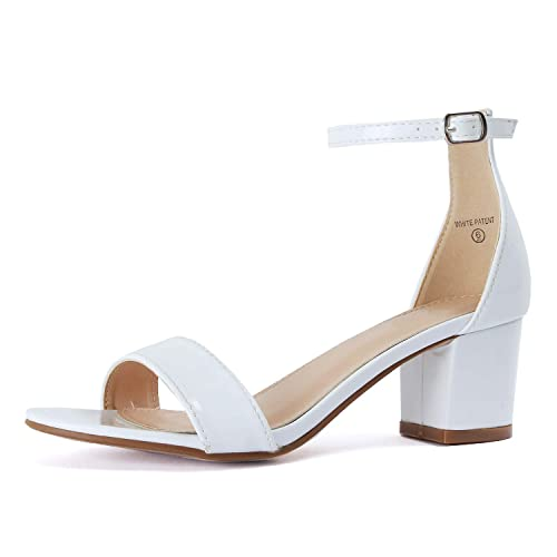 ebb60b91351012 White Low Heel  Amazon.com