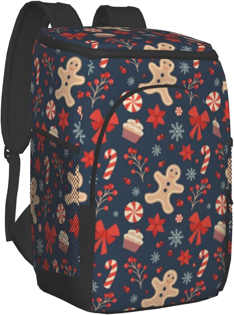 Christmas Sweet Chocolate Gingerbread Spring new work one after another SEAL limited product Backp Man Insulated Cooler