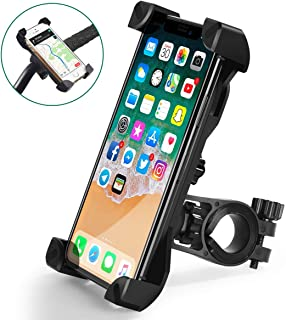 QMEET Bike Phone Mount 360°Rotation, Bike Phone Holder for iPhone Android GPS Other Devices...