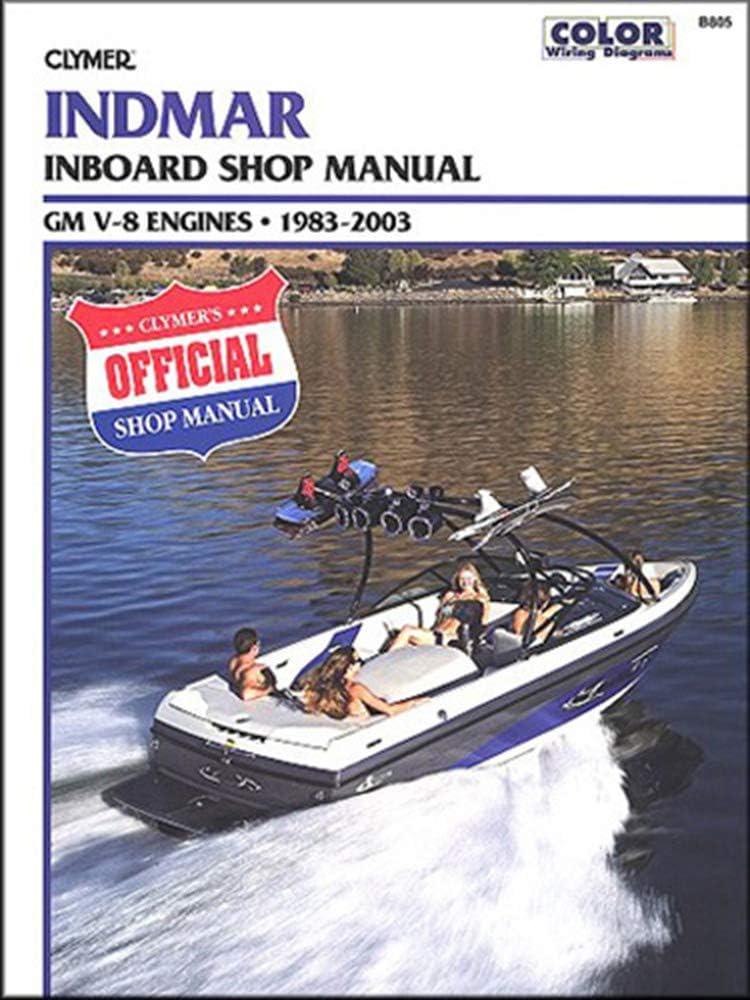 CLYMER MANUAL shipfree INDMAR Rapid rise GM Manufacturer: IB 1983-2003 V-8