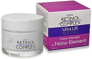 Crema Antirughe Reafirmante ristrutturante Linea Mineralia con silicio Retinol Complex