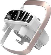 CXVBVNGHDF Calefactor Eléctrico,termoventilador, Cerámico Calentador de Espacio Portátil Personal para Cuarto/Baño/Oficina, Protección de Sobrecalentamiento