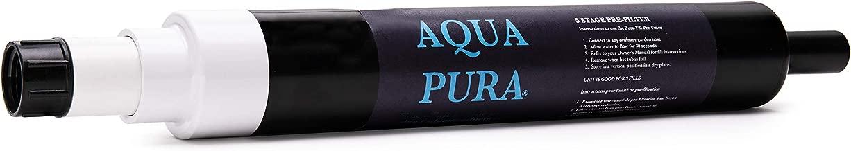 AQUA PURA 5-Stage Pre-Filter for Spas and Swimming Pools - Garden Hose Attachment