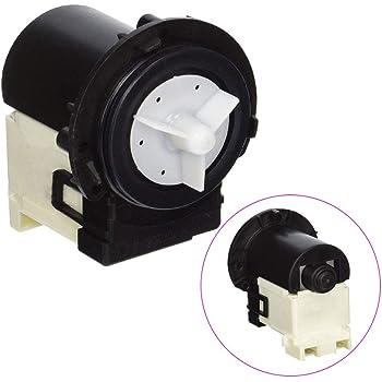 Amazon Com 4681ea2001t Drain Pump Compatible With Lg Washing Machine Replaces Wm8000hva 4681ea2001d Ap5328388 4681ea1007g Ps3579318 2003273 By Topemai Home Improvement