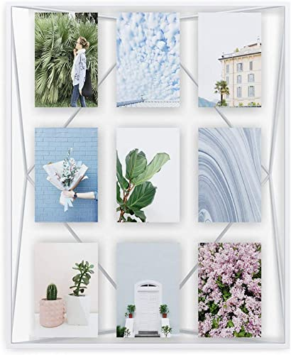 popular Umbra Prisma Gallery Frame – Floating Wall high quality or Desk Photo Display for Pictures, Art, Illustrations, Graphic Text & high quality More, Metal, White outlet online sale