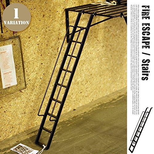 ファイヤーエスケープ 【ステア―】 ウォールシェルフ・壁面収納・ディスプレイ