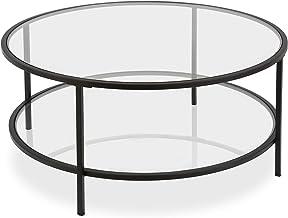 Amazon Com Round Glass Coffee Table