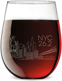 Best nyc marathon wine glass Reviews