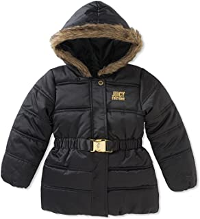 Juicy Couture Big Girls Puffer Outerwear Coat