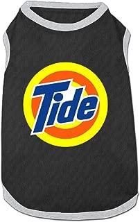 Tide Logo Pet Dog 100% Fleece Vest T Shirt Ash